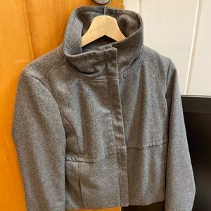 Gray Gap Pea Coat